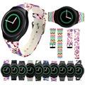Relógios bandas tpu luxury silicone watch band para samsung galaxy gear s2 sm-r720 adjustrble confortável esporte wristbang cinta