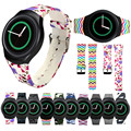 Watches Bands Luxury TPU Silicone Watch Band For Samsung Galaxy Gear S2 SM-R720 Adjustrble Comfortable Sport Wristbang Strap