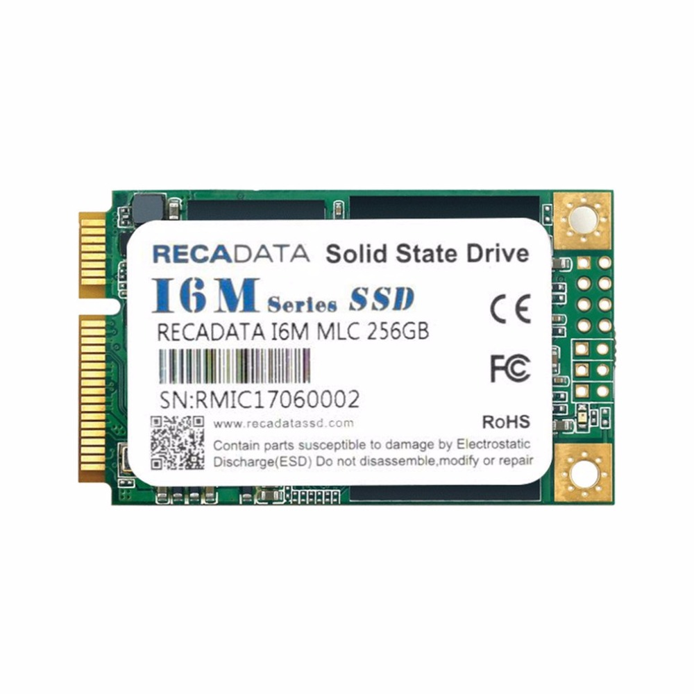 RECADATA 256GB SSD Solid State Drive mSATA III M2280 MLC Flash Hard Drive Hard Disk For Linux For Mac OS For Windows For DIY PC new msata ssd solid state hard drive 32g mini pci e ssd hard drive