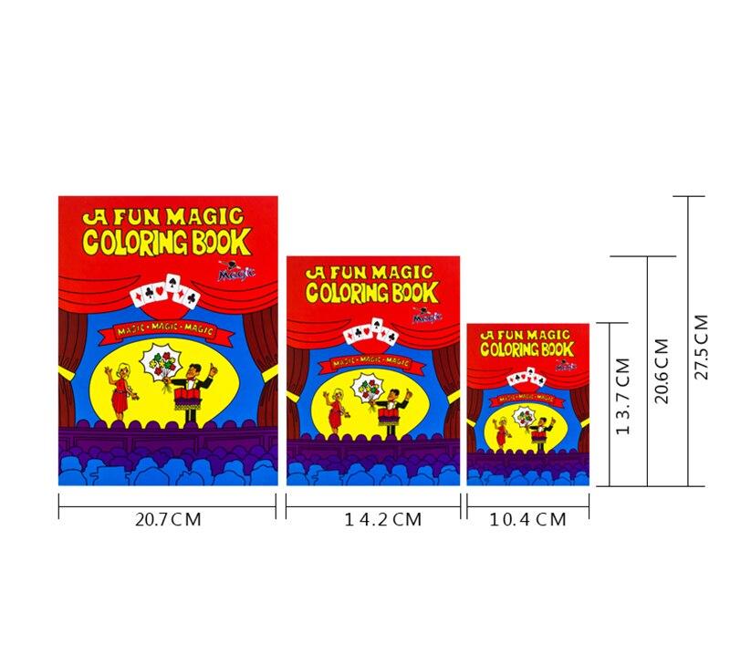 funny comedy magic coloring book smalmediumbig size ellusionist magic tricks illusion kids toy gift tour de magie 82087 in magic tricks from toys - A Fun Magic Coloring Book