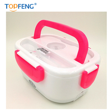 TOPFENG Electric Heating Lunch Box- Portable Insulated lunch Box With 2 parts