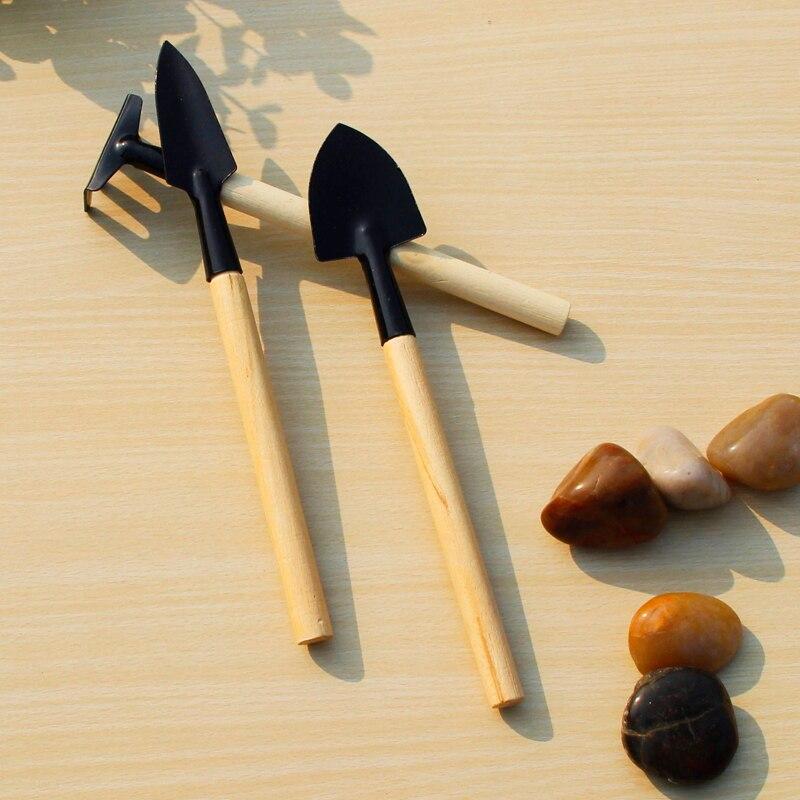 Honest 3pcs Mini Shovel Rake Garden Plant Tool Set Children Small Harrow Spade Shovel Gardening Tools Garden Hand Tools Tools