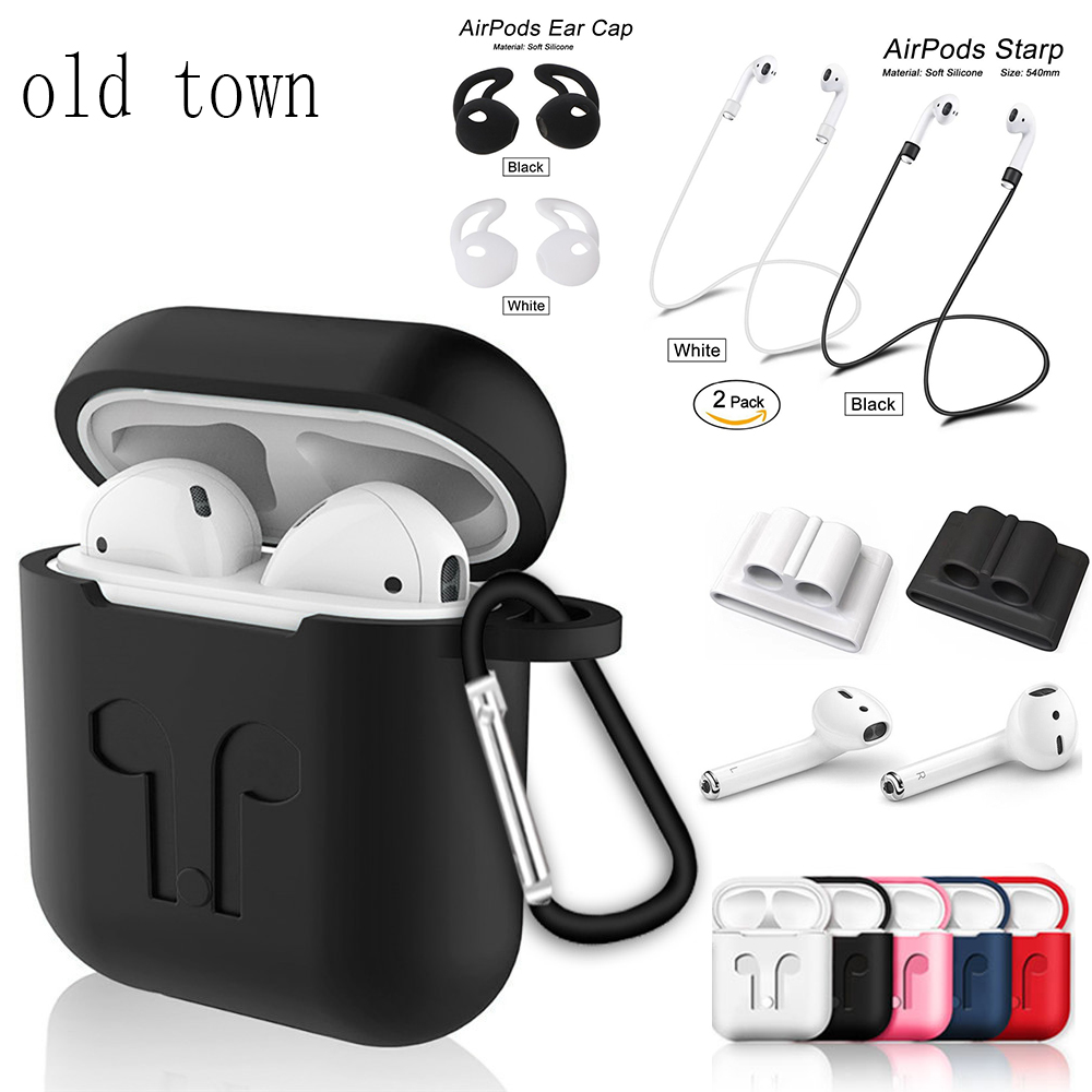2019 1:1 airpods Case Silicone earpods ear buds 1:1 air pods i 16 <font><b>15</b></font> 14 13 12 11 10 <font><b>tws</b></font> i16 i15 i14 i13 i12 i11 i10 accessories image