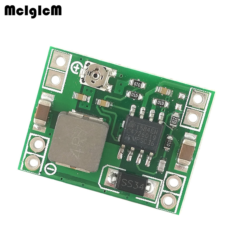 MCIGICM 200pcs MP1584EN DC DC step down supply module 3A adjustable step down module super LM2596 ultra small size size DCDC-in Integrated Circuits from Electronic Components & Supplies    1