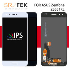"For Asus ZenFone 4 Pro ZS551KL LCD Panel Touch Screen Sensor Glass Assembly 5.5"" With Frame For ASUS ZS551KL Z01G Display(China)"