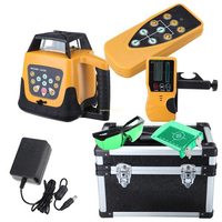 Self leveling Rotary Rotating Laser Level 500M Range Remote Controller+ Case