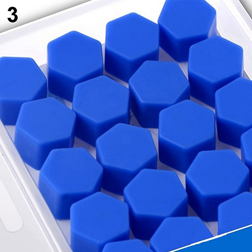 20pcs/bag 17mm wheel nut covers 19mm 21mm  car bolt caps wheel nuts silicone covers practical hub screw cap protector 6