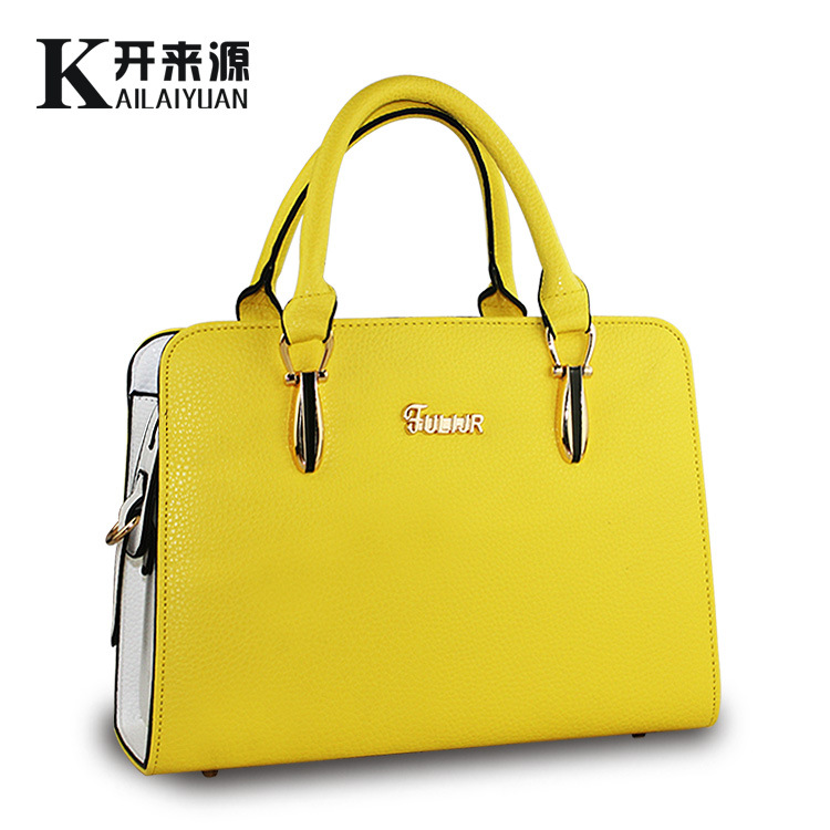100% Genuine leather Women handbags 2018Bag lady new handbag ... 4da463685aac