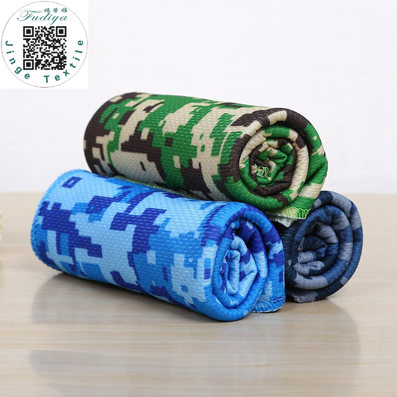 New Ice Towel  Camouflage Colors Utility Enduring Instant Cooling Towel Heat Relief Reusable Chill Cool Towel