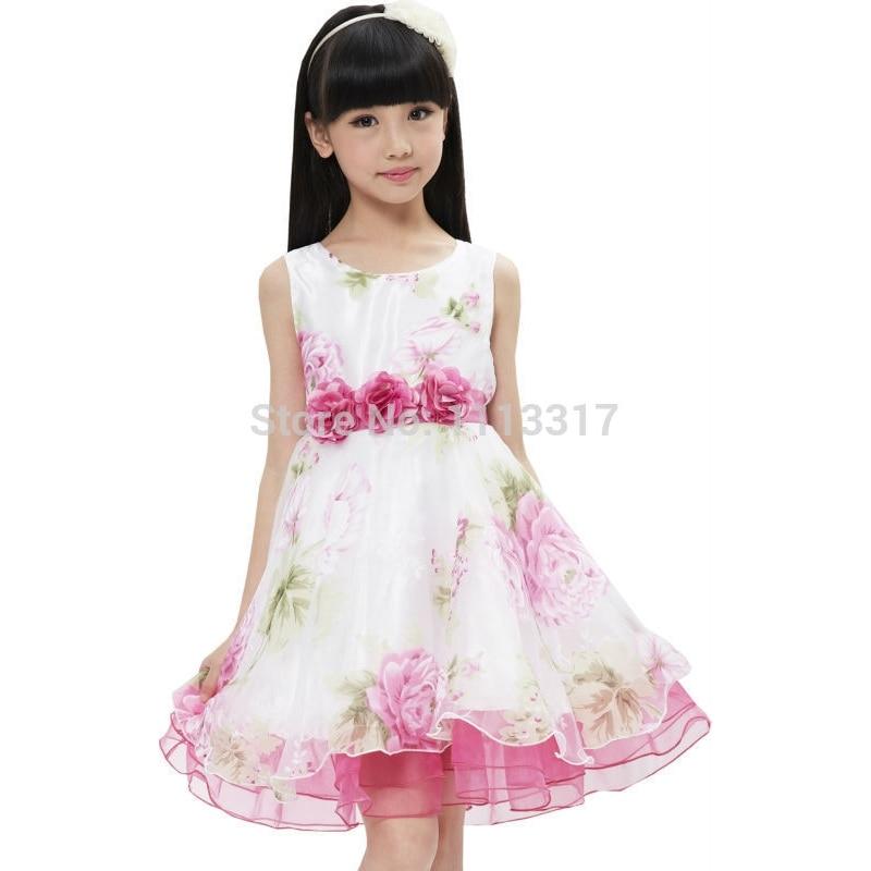 Τα κορίτσια φόρεμα νυφικό φόρεμα με - Παιδικά ενδύματα - Φωτογραφία 4