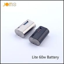 Orignal JomoTech 1600มิลลิแอมป์ชั่วโมง60วัตต์TCกล่องสมัยJomo Lite 60แบตเตอรี่บุหรี่อิเล็กทรอนิกส์VWสมัย1-60วัตต์VTCบุหรี่อิเล็กทรอนิกส์แบตเตอรี่Jomo-196