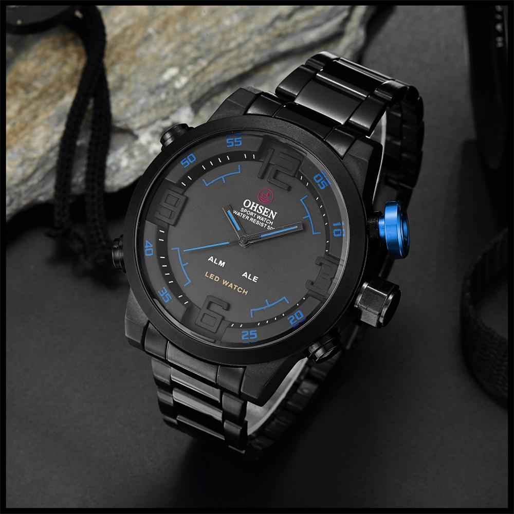 New Watch Men's Military Watches Sports Quartz Wristwatches (14)