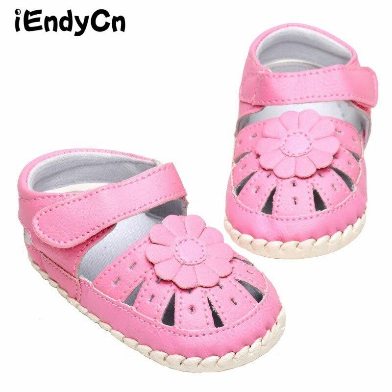 iEndyCn Babysko Barn Babysandaler De Nye 2016 Fabrikanter Sælger Hollow Out Neutral Sandals 1-3 År Old A7