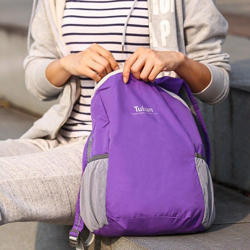 Qatlanabilir Ultralight Açıq Çanta Suya davamlı Portativ - İdman çantaları - Fotoqrafiya 4