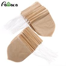 100pcs/lot Drop Shape Tea Bag Filter Infuser Strainer Paper