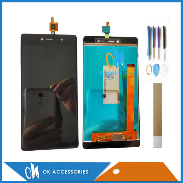 displej mikromax e481 - 5.2 Inches For Micromax Canvas 5 E481 E 481 LCD Display With Touch Screen Assembly Black Color With Tools Tape