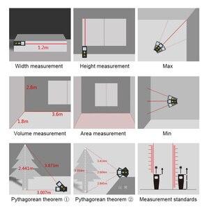 Image 5 - Mileseey Mini laser Misuratore di distanza laser misura di Nastro