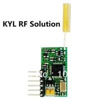 Mini Size RF Module 1km Wireless Transmission TTL Data Transceiver MCU Wireless Control PCB Module
