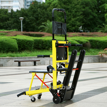 Safe elderly electric up and down stairs disabled elderly lightweight folding electric stair climbing wheelchair