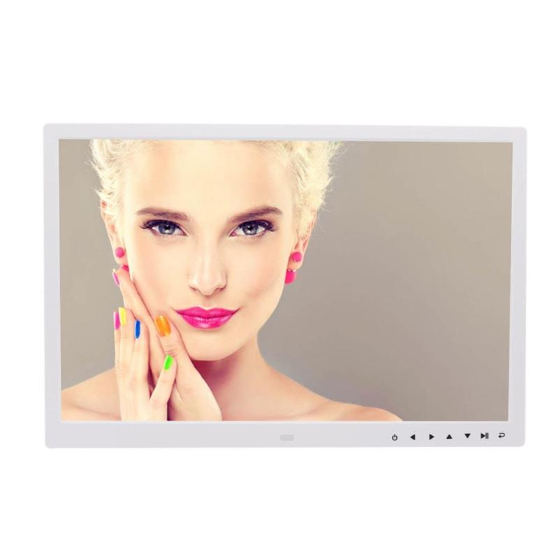 VODOOL 17 Inch HD Digital Photo Frame Electronic Album Touch Buttons Multi-language LED Screen Pictures MP3 Music Video Player didital photo frame 15 front touch buttons multi language led screen with remote control for mp3 mp4 movie player page 1