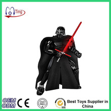 2016 Star Wars Blocks Kylo Ren Mini Figure Darth Vader With Lightsaber Storm Trooper Minifigures Figure toys Building Blocks