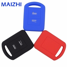 Maizhi силиконовые 2 кнопки дистанционного брелока чехол Крышка Оболочки для Vauxhall/Opel/AGILA/Corsa C
