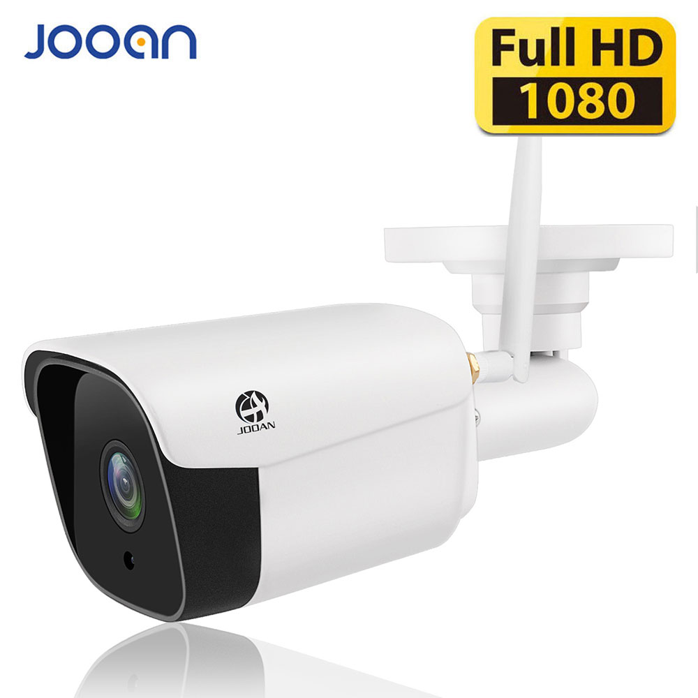 JOOAN 2MP IP Camera Wifi 1080P Wireless Camara Wired P2P CCTV Bullet Outdoor Camera With Miscro SD Card Slot Max 128G