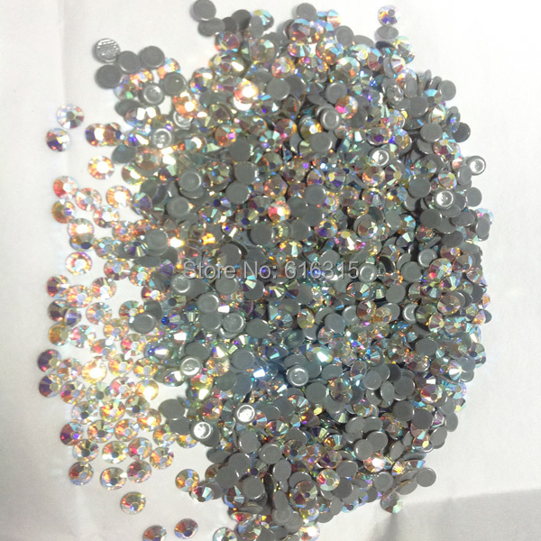 Улучшенный блестящие украшения для одежды ss16 кристалл ab по оптовым ценам от поставщика Стразы горячего крепления цвета радуги спецэффекты