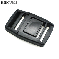 500pcs/pack 1 Plastic Center Release Buckle for Outdoor Sports Bags Students Bags Luggage