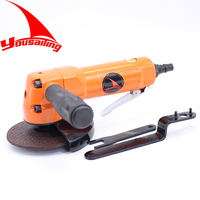 Free Shipping 100mm 4 Pneumatic Angle Grinder Tools 90 Degree Air Grinders Angle Grinding Tool