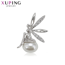Xuping Little Pendant Jewelry  Imitation Pearl Flying Wings Lovely Specially Designe High Gifts for Ladies S174.1-34638