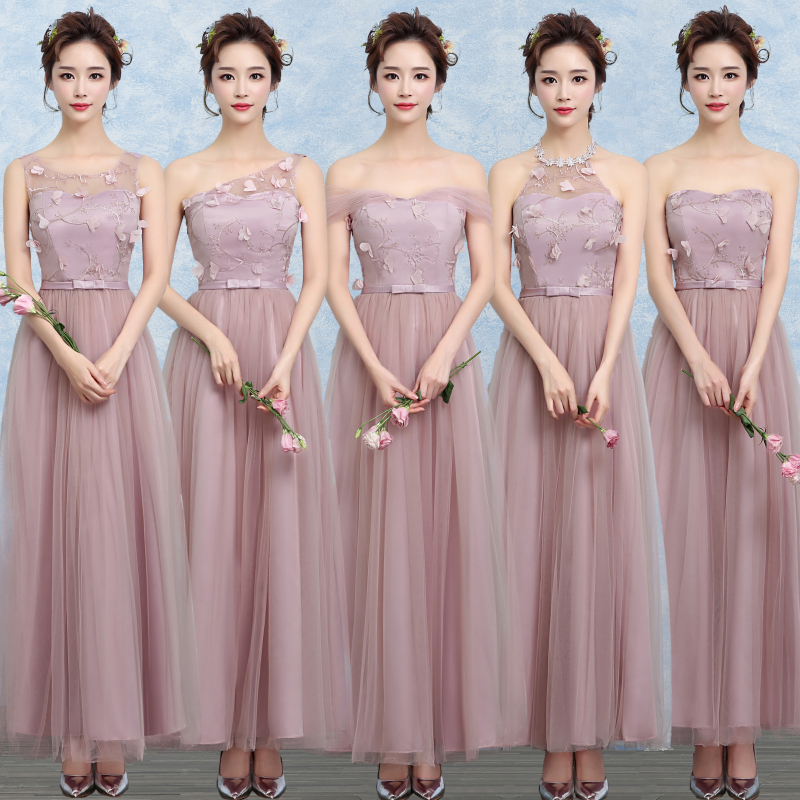 Sweet Memory 2018 Summer bridesmaid dresses long style ...