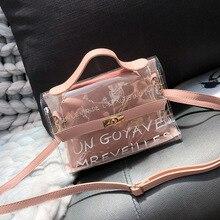 2019 Woman Clear crossbody bags for women Fashion luxury handbags Shoulder designer Female transparent Hand Bags