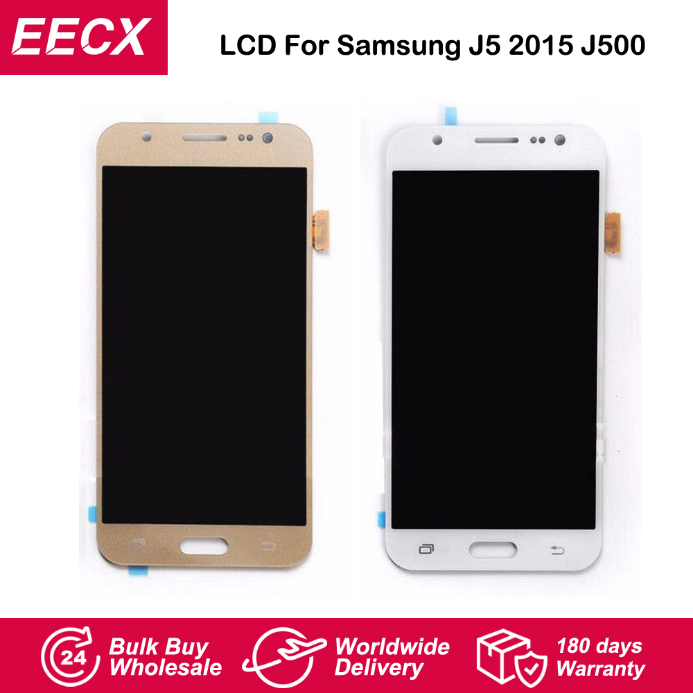 J5 <font><b>LCD</b></font> For Samsung Galaxy J5 2015 <font><b>LCD</b></font> J500FN <font><b>J500F</b></font> J500G J500Y J500M <font><b>LCD</b></font> Display Screen Touch Screen Digitizer Glass Lens image