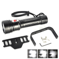 8000Lm Diving Scuba Underwater 150m Flash Light 40W By 4x XM-L2 LED Flashlight 4 LED Dive Torch Waterproof Lamp Super T6