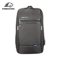 Kingsons KS3174w 10 1 Inch Chest Backpack For Men Women Casual Crossbody Bag Leisure Travel Single