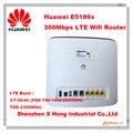 Desbloqueado huawei e5186 e5186s-61a cat6 300 lte 150mbps wi-fi router 4g fdd 700/1800/2600 mhz tdd2300mhz pk b593 gateway sem fio e5172