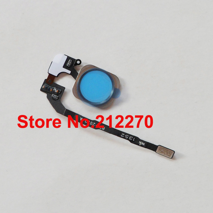 Original New Home Button Flex Ribbon Cable Assembly for iPhone 5S Black/White/Gold Wholesale Free Shipping-in Mobile Phone Flex Cables from Cellphones & Telecommunications    1