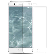 3D Full Cover Tempered Glass For Huawei P8 P9 P10 P20 Lite Plus Pro glass Screen Protector(China)