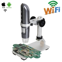 1000X WIFI Digital Microscope HD Wifi Video USB Mobile Phone Repairing Industrial Skin Detector
