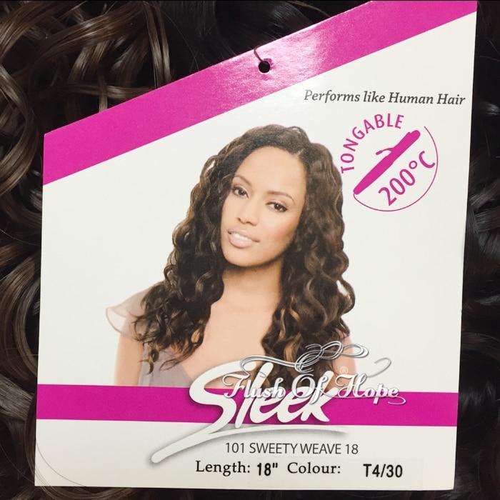 2packslot Sleek Fashion Idol 101 Sweety Weave Synthetic Hair