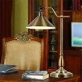 Американская Деревня ретро настольная лампа Европейская простая гостиная креативная прикроватная тумбочка для спальни исследование Имит...