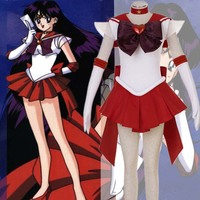 Sailor Moon cosplay costume Sailor Mars cosplay Animation clothing