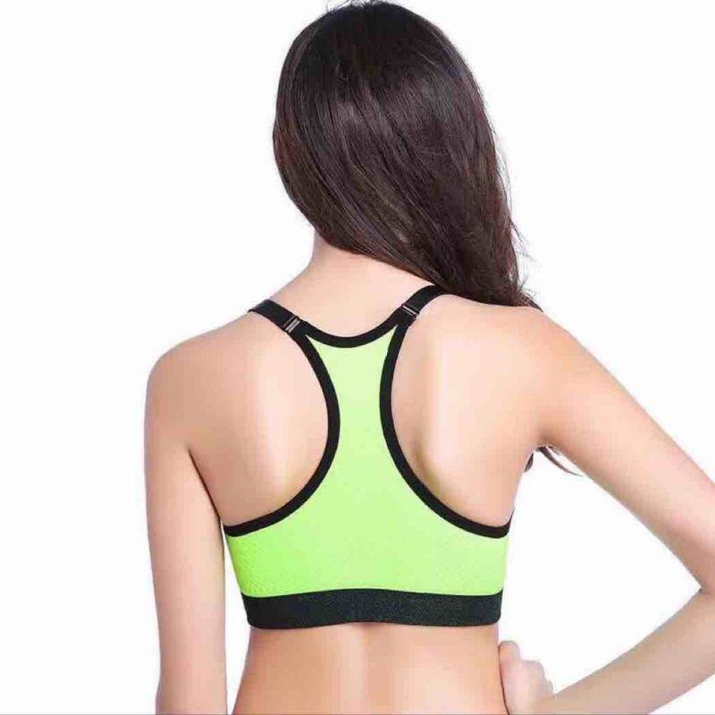 24a676c58a2d Breathable Sexy Holes Women Sport Bras Tops Underwear Gym Tank Tops Camis  Without Steel Workout Fitness Bras-in Sports Bras from Sports &  Entertainment on ...