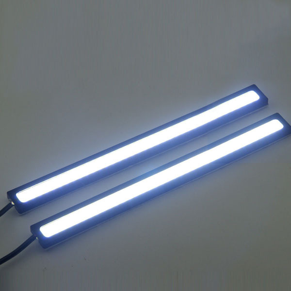 2 Pcs Super Bright 14cm 6w 12 Volt Cob Led Lamps Drl