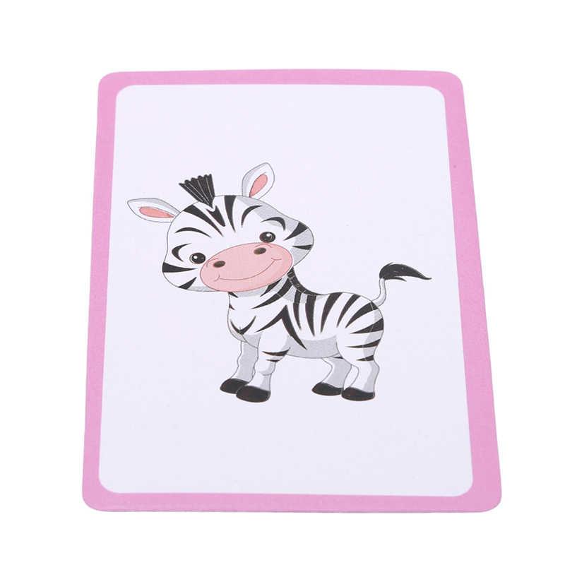 36 stks/set Kinderen Baby Engels Leren Brief Nummer Kaart Leren Montessori Educatief Speelgoed Woord Tafel Game Card