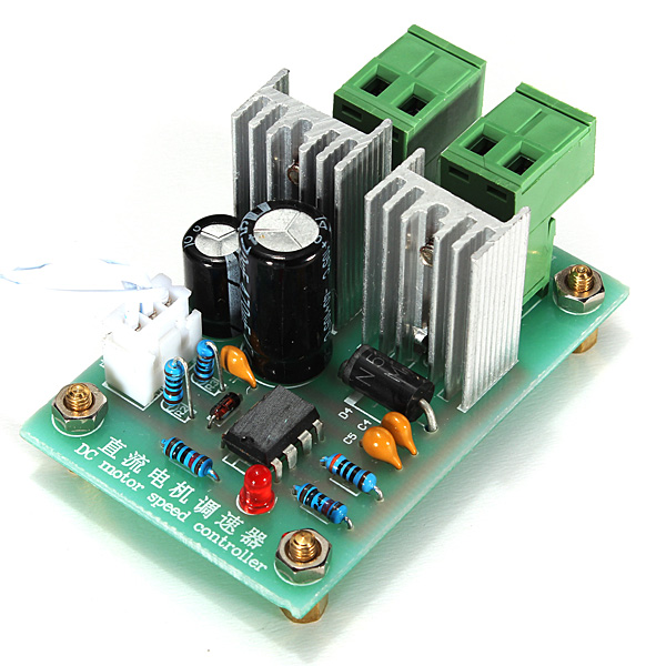 High Quality 10A <font><b>DC</b></font> Switch 12V <font><b>24V</b></font> 36V <font><b>Motor</b></font> <font><b>Driver</b></font> Speed Pulse Width PWM Control Controller image