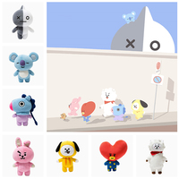 Kpop Home Bangtan Boys BTS Bt21 Plush Doll Pre Sale
