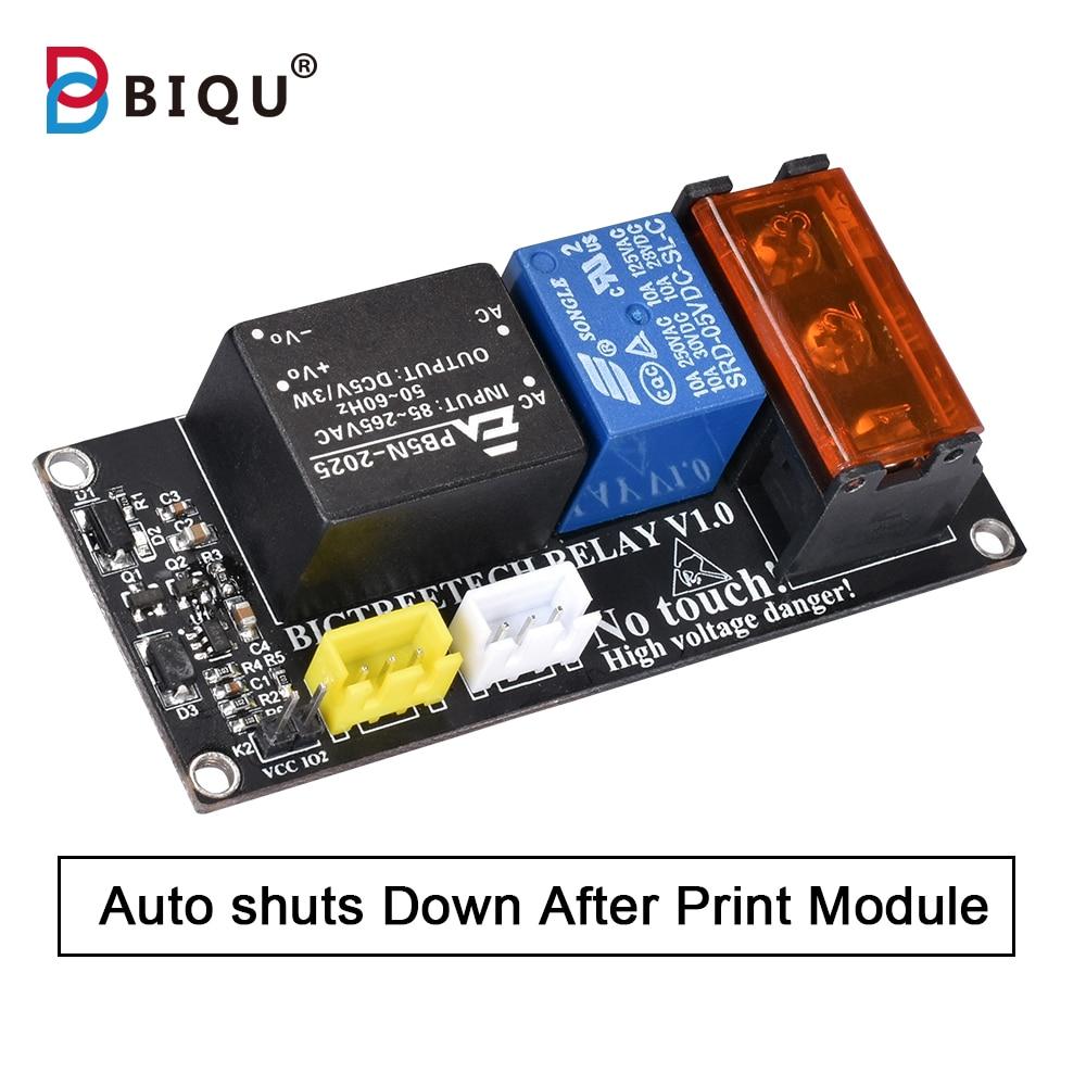 New Relay V1.0 Impressora 3d Printer Auto shuts down Module 3D Parts For BIQU Thunder CR10 SKR PRO motherboard