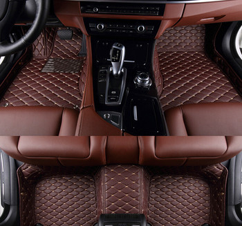 Top quality rugs! Custom special car floor mats for BMW 650i Gran Coupe 2017-2012 waterproof carpets for 650i 2015,Free shipping